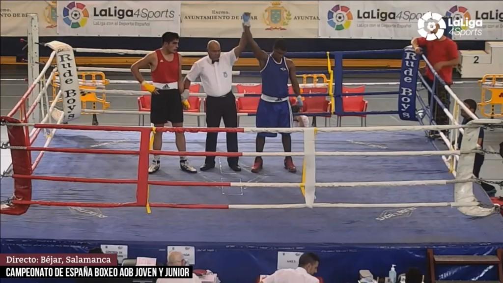 Brais García Da Cuña del Club Deportivo Snap de Vigo, no pudo pasar de la medalla de Bronce al ser derrotado por el representante canario. LaLiga4Sports.