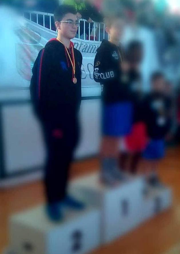 Foto web de Brais, ganador de la medalla de Plata para el Rebouras Team.