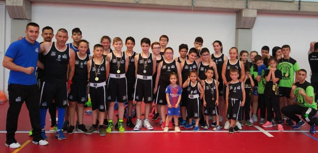 Uno de los clubes que presentó un número mayor de participantes fue el Team Thunder de Marín. cedida