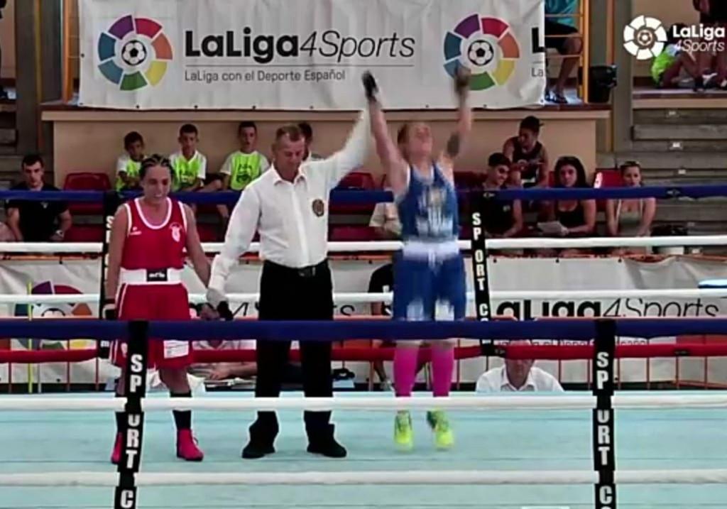 La onubense Ana Acevebedo Gómez aportó un nuevo triunfo para el combinado gallego en los nacionales de Córdoba.