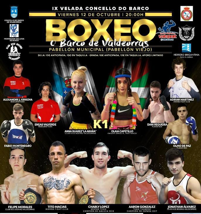 Afiche publicitario del espectáculo mixto organizado por Juan J. Pardo
