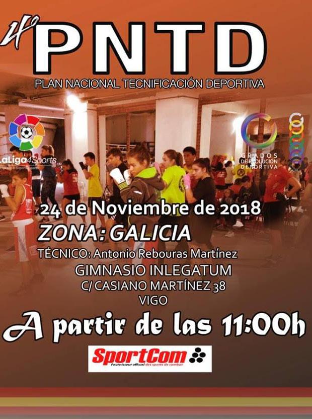 cartel anunciador del PNTD en In Legatum. cedida