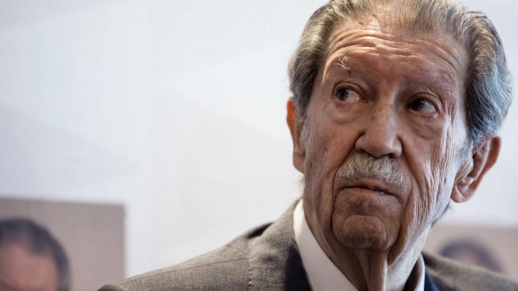 Manuel Alcántara, fotografía del 2015, obra de Jorge Zapata de la Agencia EFE.