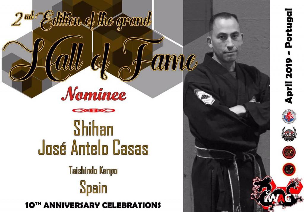 El técnico compostelano Antelo ha sido reconocido como SHIHAN por la WAC. world All stiles Championship.