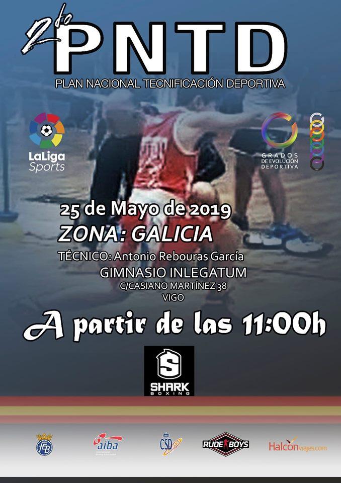 Afiche publicitario del 2º Plan de Tecnificación Deportiva que se impartirá en las instalaciones del gimnasio In Legatum. Cedido.