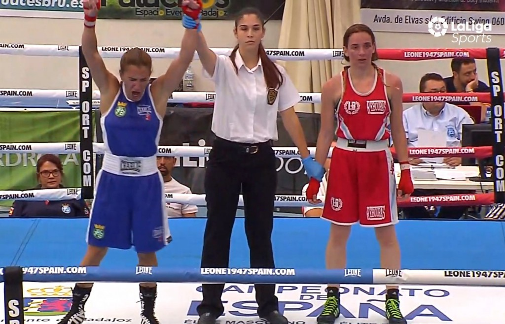 Christine oya Steinbr¨ggen no pudo debutar con triunfo en sus primeos campeonatos nacionales. LaLigaSpotrs