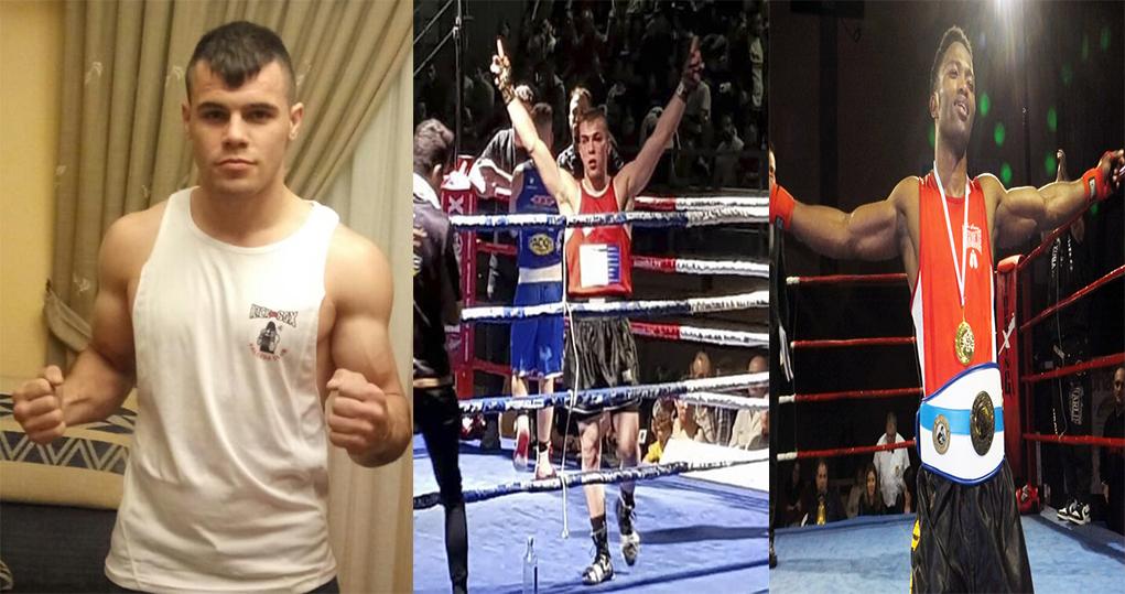 Los boxeadores  Dinamita Álvarez, Garrote García y Wilson Tavares tuvieron la cortesía de hacer sus reflexiones para boxeodemedianoche. Cedidas